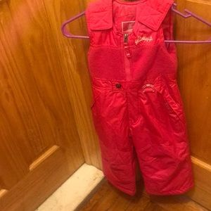 Weatherproof Other - Toddler girl snow suit